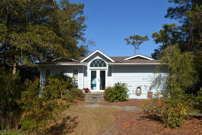 Pine Knoll Shores Single Family Home For Sale: 1 West Court