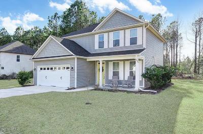 Hampstead Single Family Home For Sale: 398 Majestic Oaks Drive