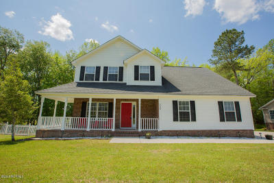 Onslow County Single Family Home For Sale: 205 Lee Rogers Road