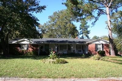 Edgecombe County Single Family Home For Sale: 600 Clark Drive