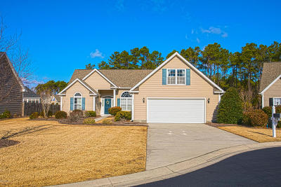 Southport Single Family Home For Sale: 4996 Kitts Court