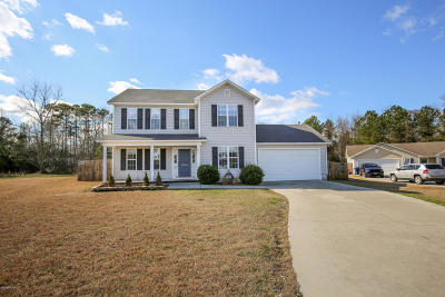 Onslow County Single Family Home For Sale: 205 Silky Court