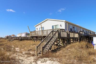 Oak Island Condo/Townhouse For Sale: 7609 E Beach Drive #1
