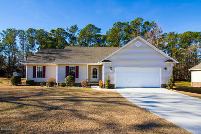 Swansboro Single Family Home For Sale: 323 Clam Digger Court