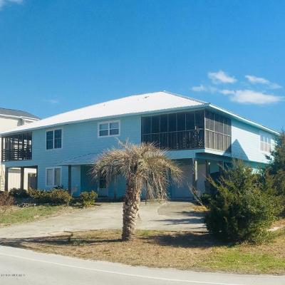 North Topsail Beach, Surf City, Topsail Beach Single Family Home For Sale: 1202 S Topsail Drive