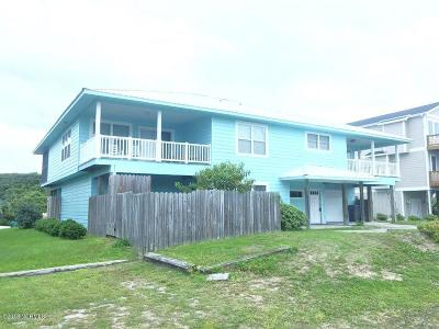 North Topsail Beach, Surf City, Topsail Beach Single Family Home For Sale: 1203 S Shore Drive