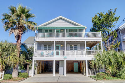 Wrightsville Beach Single Family Home For Sale: 1 E Atlanta Street