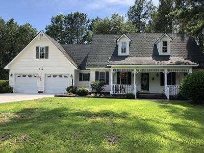 Onslow County Single Family Home For Sale: 517 N Shore Drive