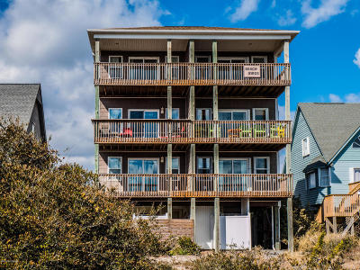 North Topsail Beach, Surf City, Topsail Beach Single Family Home For Sale: 104 Windward Drive #A