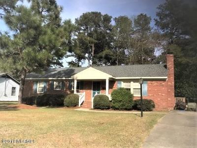 Edgecombe County Single Family Home For Sale: 1303 Woodgreen Road
