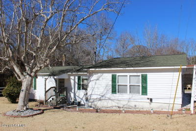 Hubert Single Family Home For Sale: 241 Bear Creek Road