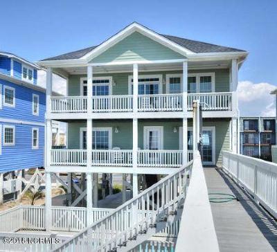 Oak Island Single Family Home For Sale: 2719 W Beach Drive