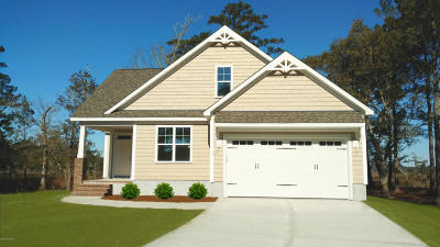 Morehead City Single Family Home For Sale: 1217 Woods Court