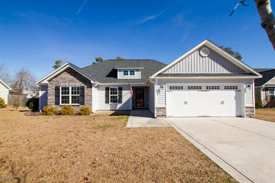 Sneads Ferry Single Family Home For Sale: 212 Marsh Haven Drive