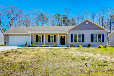 Onslow County Single Family Home For Sale: 3273 Catherine Lake Road