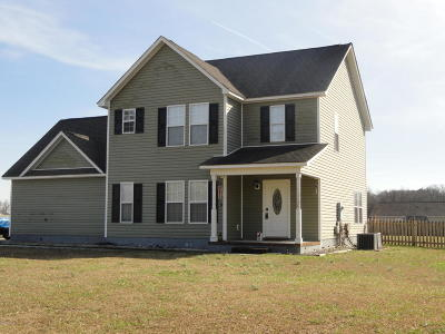 Richlands Single Family Home For Sale: 254 Petersburg Road