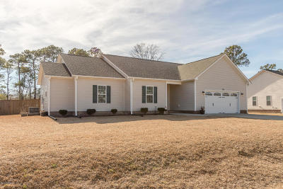 Onslow County Single Family Home For Sale: 103 Ridgepath Lane