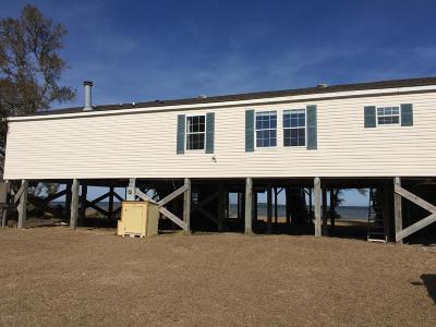 Cedar Island Single Family Home For Sale: 415 Lola Road
