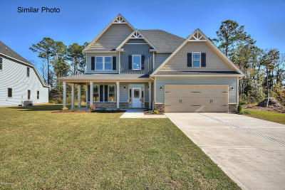 Onslow County Single Family Home For Sale: Southern Dunes Drive #Lot 40