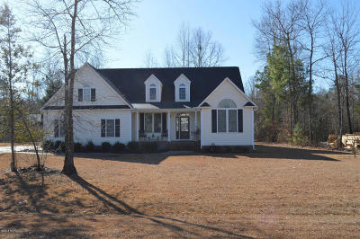 New Bern NC Single Family Home For Sale: $269,500
