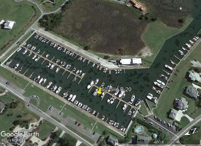 Hampstead Boat Slip For Sale: 176 Harbour Village Drive #50' Slip