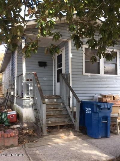 Wilmington Single Family Home For Sale: 1009 Wright Street
