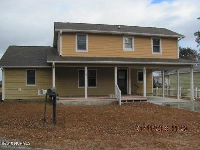 Morehead City Single Family Home For Sale: 2320 Crab Point Loop Road