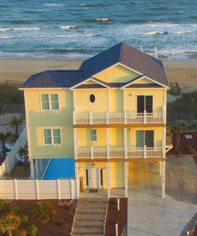 Emerald Isle Single Family Home For Sale: 611 Ocean Drive