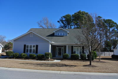 Morehead City Single Family Home For Sale: 209 Carefree Lane
