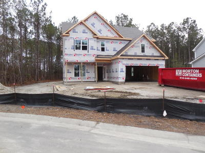 Sneads Ferry Single Family Home For Sale: 108 E Goldeneye Court
