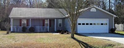 Jacksonville Single Family Home For Sale: 132 Wigeon Road