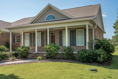 Southport Single Family Home For Sale: 2935 Trailwood Drive SE