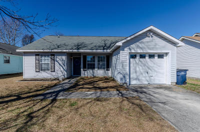 Onslow County Single Family Home For Sale: 3009 Steeple Chase Court