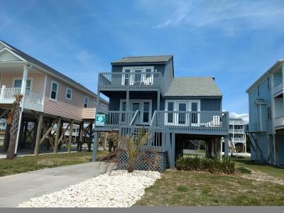 Oak Island Single Family Home For Sale: 2908 E Beach Drive