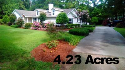 Calabash Single Family Home For Sale: 1199 Green Pasture Lane NW