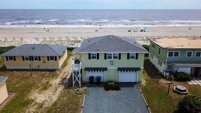 Holden Beach Single Family Home Pending: 200 Ocean Boulevard E