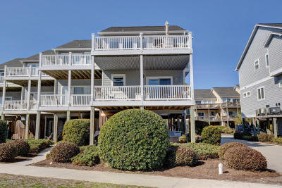 North Topsail Beach, Surf City, Topsail Beach Condo/Townhouse For Sale: 201 Sandpiper