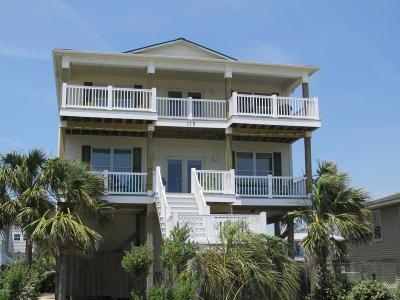 Oak Island Single Family Home For Sale: 118 W Beach Drive