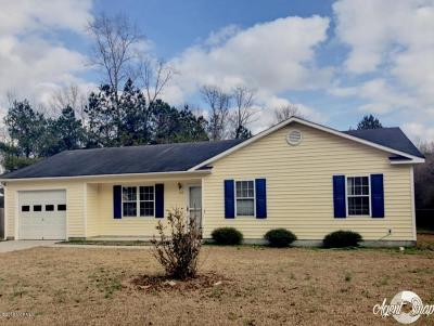 Jacksonville Single Family Home Active Contingent: 107 Wigeon Road