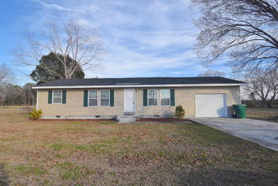 Onslow County Single Family Home For Sale: 1545 Halltown Road