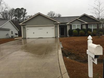 Richlands Rental For Rent: 306 Tuscan Court