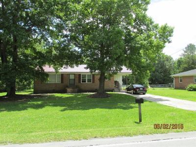 Onslow County Single Family Home For Sale: 1074 Rocky Run Road