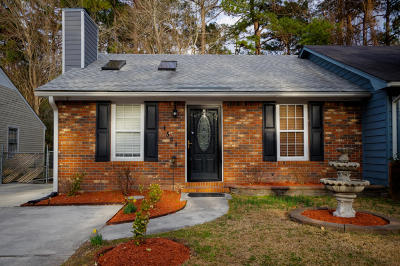 Onslow County Single Family Home For Sale: 1504 Tramway Court