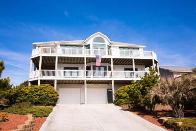 Emerald Isle Single Family Home For Sale: 1204 Ocean Drive
