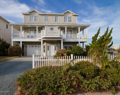 Ocean Isle Beach Single Family Home For Sale: 235 E Second Street