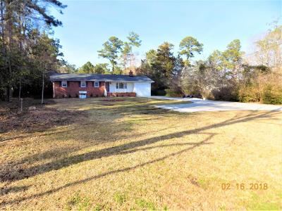 Onslow County Single Family Home For Sale: 2316 Burgaw Highway