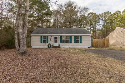 Onslow County Single Family Home For Sale: 1151 Old 30 Road