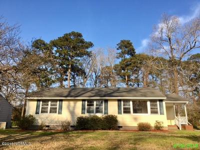 Jacksonville Single Family Home For Sale: 502 Dogwood Lane