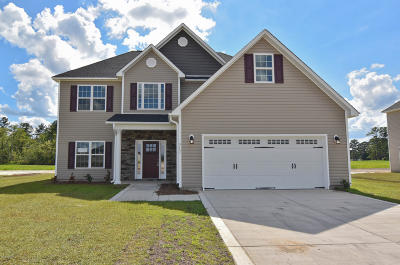 Onslow County Single Family Home For Sale: 317 March Sea Lane