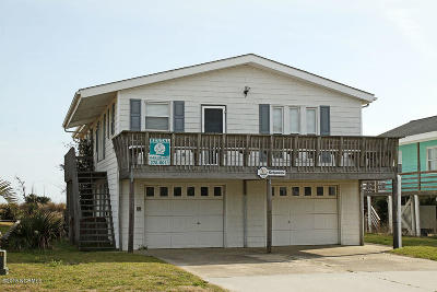Oak Island Single Family Home Sold: 5413 W Beach Drive